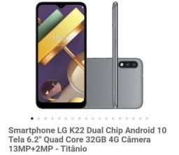 LG K22 semi-novo