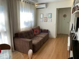 Apartamento com 2 dormitórios à venda, 63 m² por R$ 220.000 - Gleba Califórnia - Piracicab