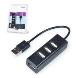 Hub usb 2.0 480 mbps C/ 4 portas - NOVO