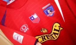 Camisa Colo Colo Chile Vermelha Libertadores Time Raridade