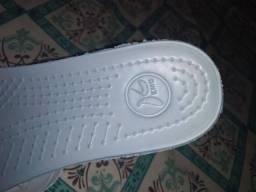 Sapato kemo de borracha branco novo