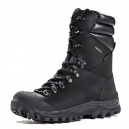 Coturno - bota tática guartelá - tamanho 37 - cor preta