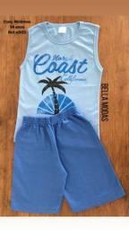 Conjunto Nininhos Azul coast