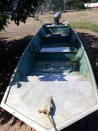 Motor yamaha 25 HP + barco em alumínio de 6 M