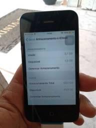 iPhone 4s único dono 50gb de memoria