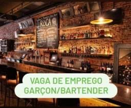 Vaga Bartender - Com ou Sem Experiência
