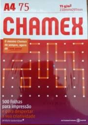 Papel Chamex Office A4 210mm x 297mm com 500 Folhas