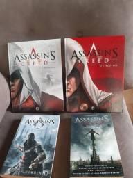 Livro e HQ Assassin's Creed
