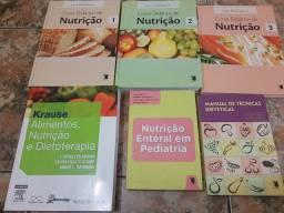 Livros de nutrição para faculdade