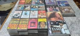 Vendo ece lote de CDs originais e fitas de rádio antigas