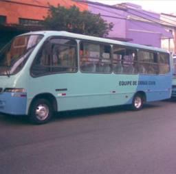 Ônibus Mercedes Bens LO915 32 lugares Marcopolo Senior 2004