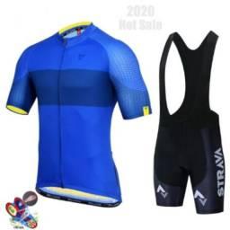 Conjunto para ciclismo Strava