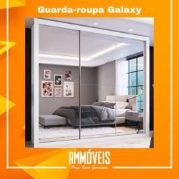 Promoção Guarda-roupa Galaxy Espelhado Entrega e Montagem Grátis!