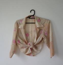 Camisa Rosas