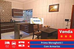 Título do anúncio: Casa Completa - 2 dormitórios 2 Garagem - Primo Meneghetti - Franca SP
