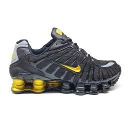 Tênis-Nike-Preto/Ouro-12molas