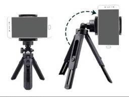 Título do anúncio: Mini Tripe Celular Camera Mesa Com Regulagem Altura TriPod