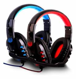 Fone Gamer HeadSet Bass Com Fio P2 Corda Microfone Ps4 X-Box On PC smartphones