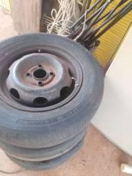 Título do anúncio: 4 rodas de ferro