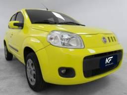 Fiat Uno 1.0 Vivace 2012 Amarelo Completo