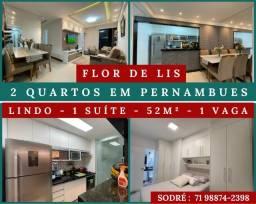 Morada Flor de Lis - 2 quartos em 52 m² - 1 Vaga ?Formidável