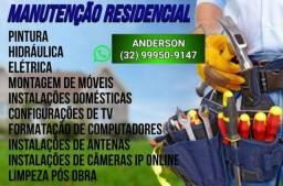 Título do anúncio: MONTADOR de móveis bombeiro eletricista pintor
