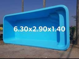 Picina de fibra 6.30x2.90x1.40