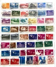 Coleção de Selos Impecável
