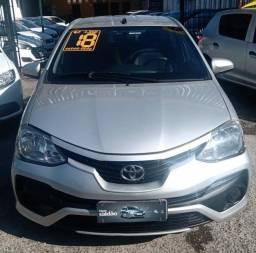 Toyota Etios Sedan 1.5 XS Autom 2018 !