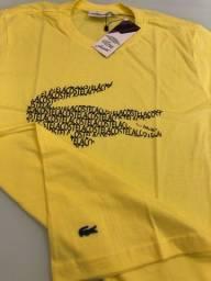 Camiseta fio 30.1 100% algodão penteado e mercerizado
