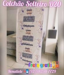 Título do anúncio: colchão d20 solteiro-- entrega no mesmo dia