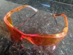 Óculos de proteção EPI Laranja<br>