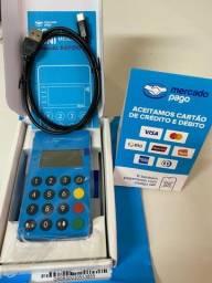Título do anúncio: Maquininha Point Mini Blue Me30s Mercado Pago - Sem Taxas