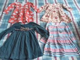 Título do anúncio: Lote de roupas de menina até 3 anos