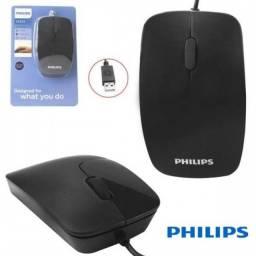Mouse com fio Philips (ENTREGA)
