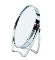Espelho De Mesa Para Maquiagem Redondo Com Base 8 CM