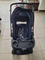Título do anúncio: Carrinho de bebê com bebê conforto(sem base para carro)