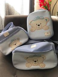 Título do anúncio: Kit com 3 Bolsas para bebê