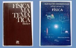 Título do anúncio: Combo Física Matemática/Equações dif. aplicadas à Física - livros universitários Física