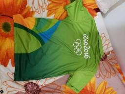 Camisa voluntário Rio 2016 tam P