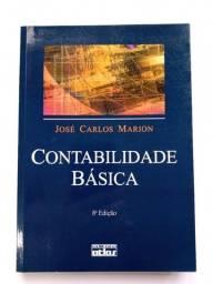 Título do anúncio: Contabilidade básica - Marion - livro universitário Administração/ Contabilidade