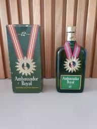 Título do anúncio: Whisky Ambassador Royal 12 anos