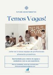 Título do anúncio: VAGAS PARA CONSULTOR DE VENDAS COM OU SEM EXPERIE?NCIA