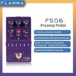 Título do anúncio: Flamma fs06 pre amp