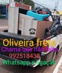 Título do anúncio: Oliveira frete, chama que não falta