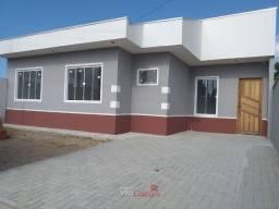 Casa nova com 3 quartos em Paranaguá. Financia.