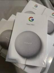 Título do anúncio: (LACRADO) Google Nest Mini 2° Geração novo com NF