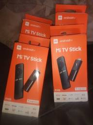 Mi tv stick transformar sua tv em smart até 12 vez no cartão