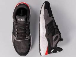 Tênis Adidas Chaos Novo Core Black Tam 40, Adidas, Nike, Puma