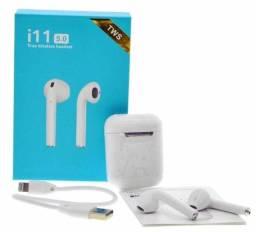 Fone de ouvido AirPods i11s - Cia Do Smart